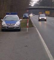 Mobile Geschwindigkeitsmessungen in Neu-Isenburg